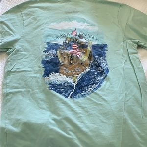 Lauren James mint green t shirt with frocket